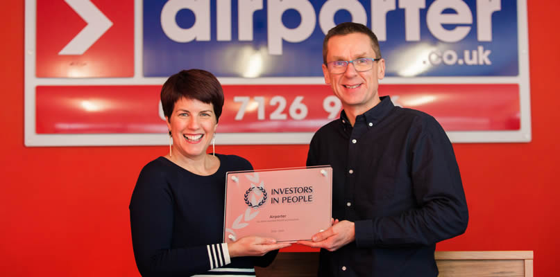 Airporter Investors in People award