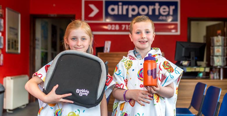 Airporter and BubbleBum Derry