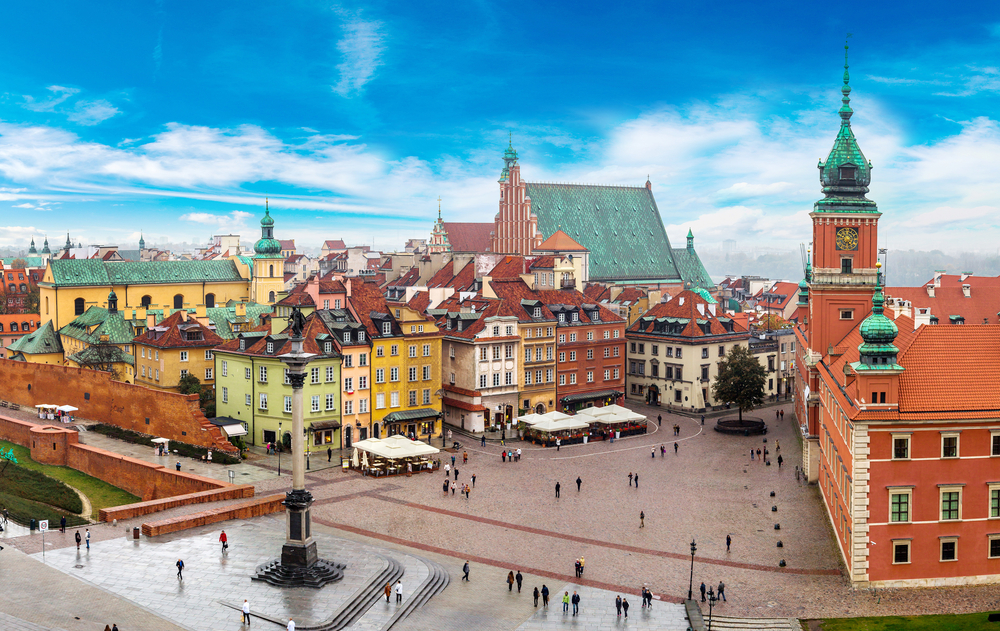 Budget Travel Destinations Warsaw direct from Belfast