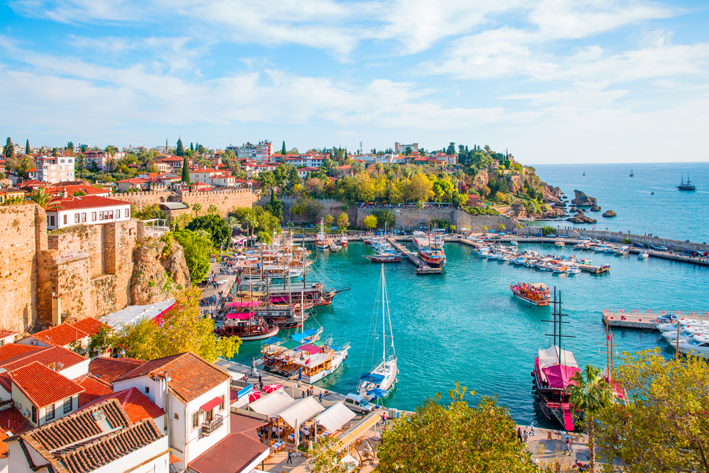 flights from Belfast to Antalya, Turkey