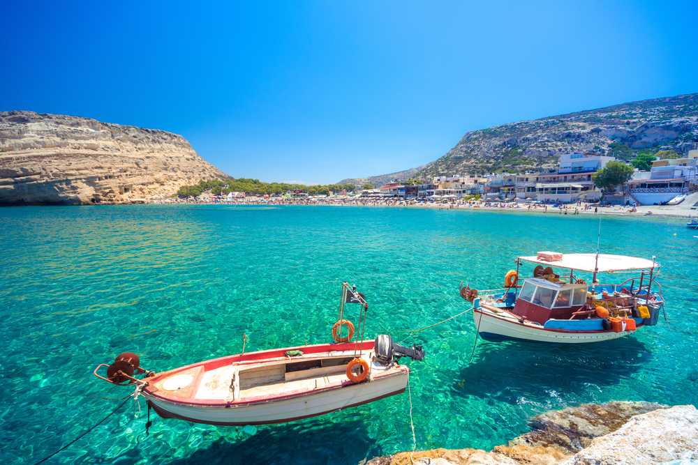 Flights to Crete from Belfast International Airport
