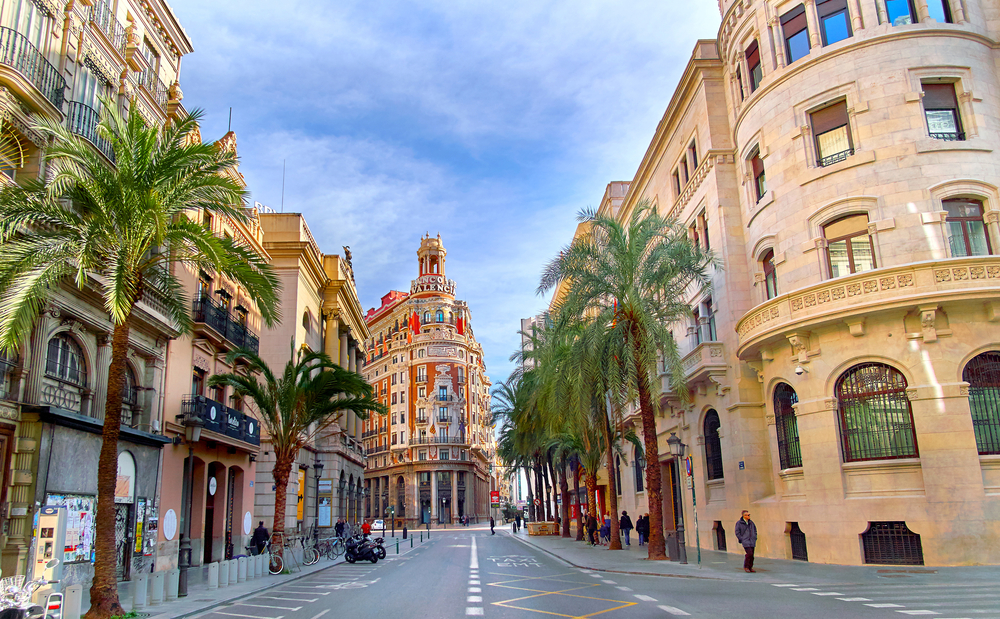 flights to Valencia, Spain