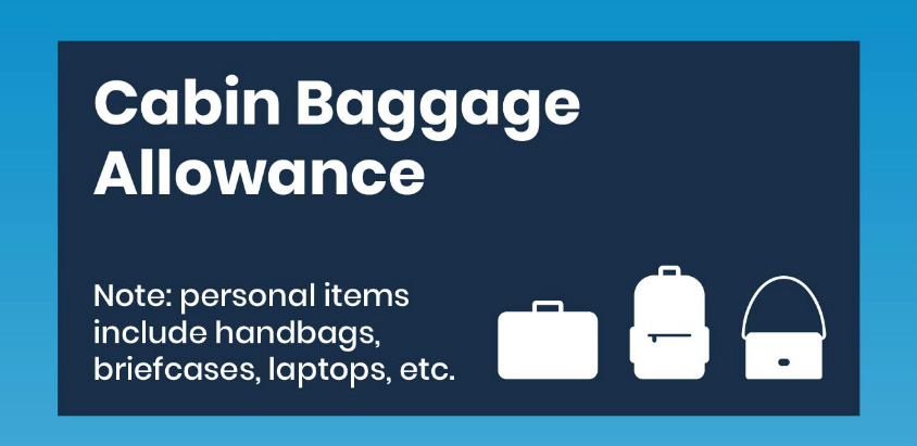 Cabin baggage infographic